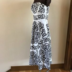 WHBM STRAPLESS DRESS